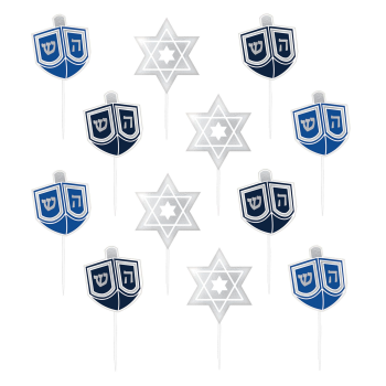 Picture of DECOR - HANUKKAH PLASTIC PICKS