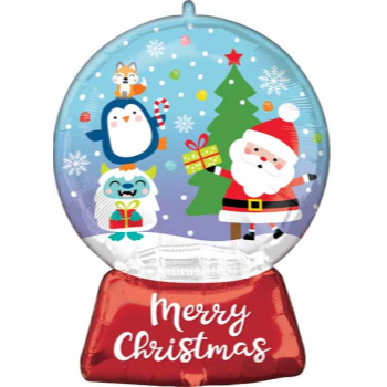"Image de 27"" CHRISTMAS SNOW GLOBE SUPER SHAPE"