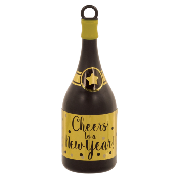 Picture of BALLOONS - CHAMPAGNE BOTTLE BALLOON WEIGHT