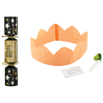 Image de DECOR - NEW YEARS CRACKERS - BLACK/SILVER/GOLD