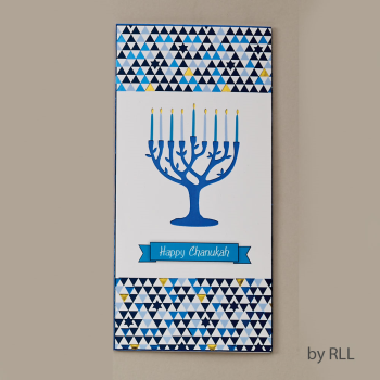 Picture of JUDAICA - CHANUKAH WALLET CARD