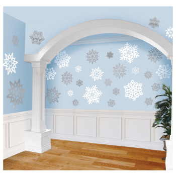 Image de DECOR - SNOWFLAKE CUT OUTS