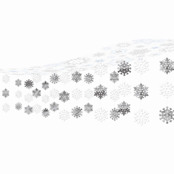 Image de DECOR - SNOWFLAKE CEILING CURTAIN