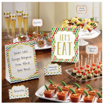Image de TABLEWARE - BUFFET KIT CANDY BUFFET CHRISTMAS CARD