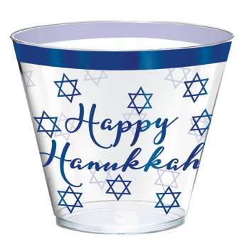 Picture of TABLEWARE - HANUKKAH PREMIUM 9oz CUPS