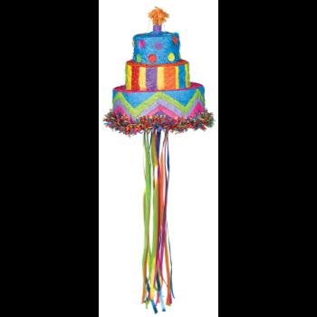 Picture of BIRTHDAY CAKE PULL PINATA