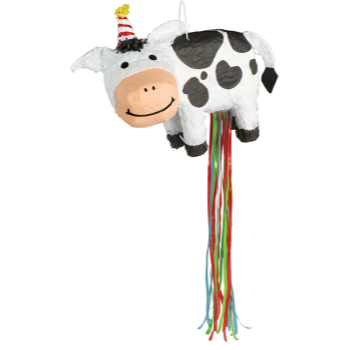 Picture of BARNYARD COW PULL PINATA