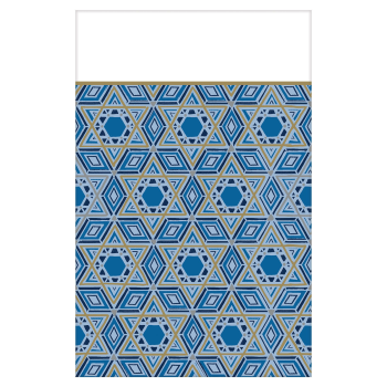 Picture of TABLEWARE - HANUKKAH FESTIVAL OF LIGHTS PLASTIC TABLE COVER