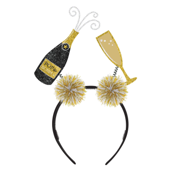 Image de WEARABLES - CHAMPAGNE AND FLUTE HEADBOPPER