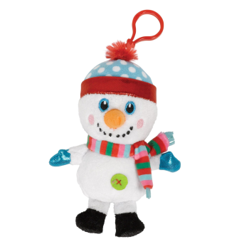 Image de DECOR - KEY CHAIN SNOWMAN PLUSH