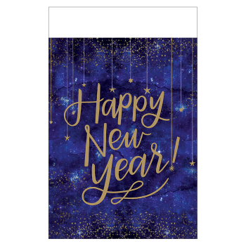 """Image de TABLEWARE - MIDNIGHT NEW YEAR EVE 7"""" TABLE COVER"""