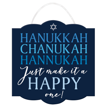 Picture of DECOR - HAPPY HANUKKAH SIGN