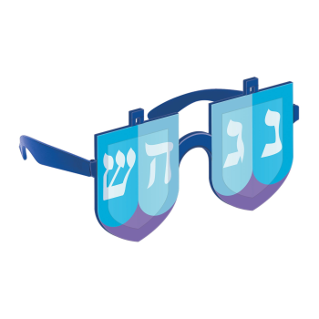 Picture of WEARABLE - DREIDEL FLIP UP GLASSES