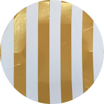 Image de GOLD STRIPES JUMBO GIFT WRAP 50'