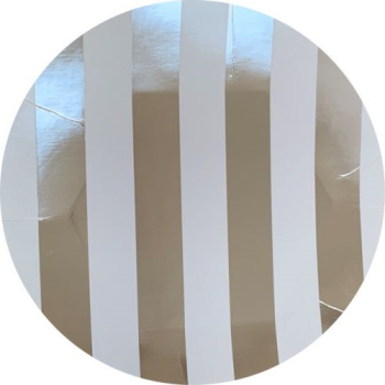 Picture of SILVER STRIPES JUMBO GIFT WRAP 50'