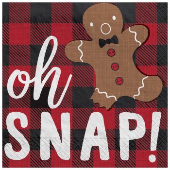 Image de TABLEWARE - OH SNAP  BEVERAGE NAPKINS