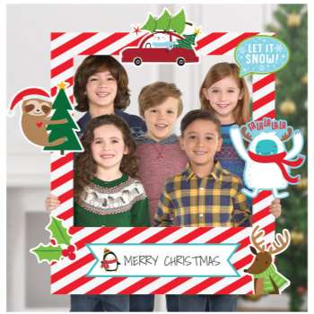 Image de DECOR - CHRISTMAS GIANT PHOTO FRAME WITH PROPS