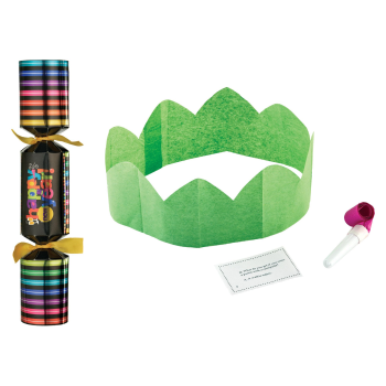 Image de DECOR - NEW YEARS CRACKERS 8 PACK