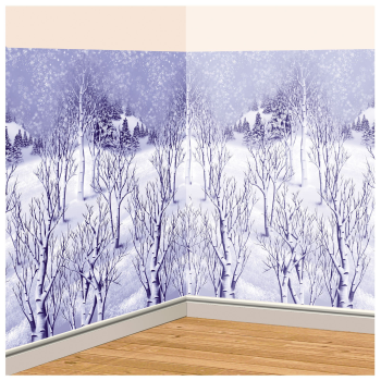 Image de DECOR - WINTER TREE SCENE SETTER