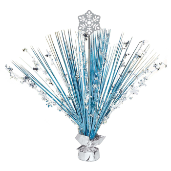 Picture of DECOR - SNOWFLAKE SPRAY CENTER PIECE