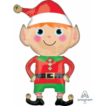 "Image de 36"" - HAPPY CHRISTMAS ELF SUPER SHAPE"
