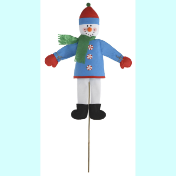 Picture of DECOR - SNOWMAN YARD STAKE