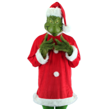 Image de WEARABLES - GRINCH DELUXE ADULT COSTUME L/XL