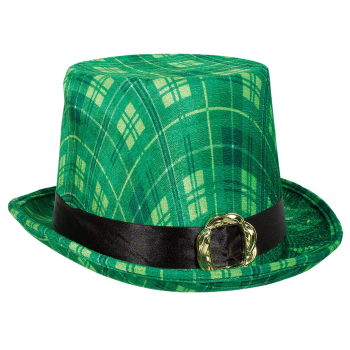 Picture of WEARABLES - ST PAT'S PLAID TOP HAT
