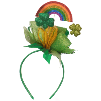 Picture of WEARABLES - ST PAT'S HEADBAND WITH RAINBOW