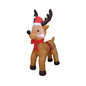 Image de DECOR - INFLATABLE 3' REINDEER