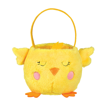 Picture of DECOR - EASTER BASKET CHICK