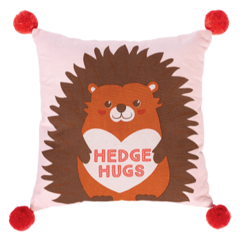 Picture of DECOR - VALENTINE'S DAY HEDGE HUGS PILLOW