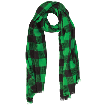 Picture of WEARABLES - PLAID FRINGE SCARF