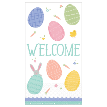 Picture of TABLEWARE - PRETTY PASTELS EASTER GUEST TOWELS