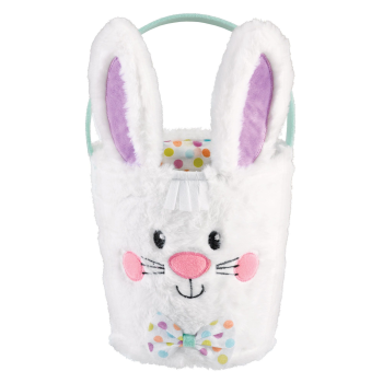 Picture of DECOR - EASTER BASKET PLUSH BUNNY