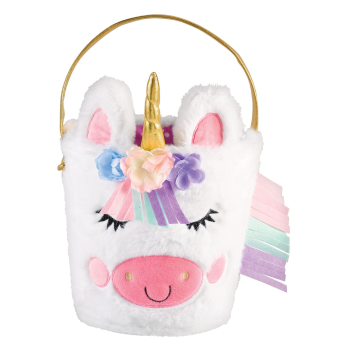 Picture of DECOR - EASTER BASKET UNICORN