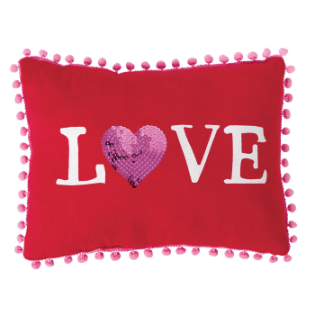 Picture of DECOR - VALENTINE'S DAY LOVE PILLOW