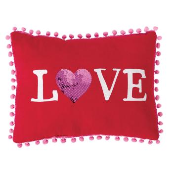 Image de DECOR - VALENTINE'S DAY LOVE PILLOW