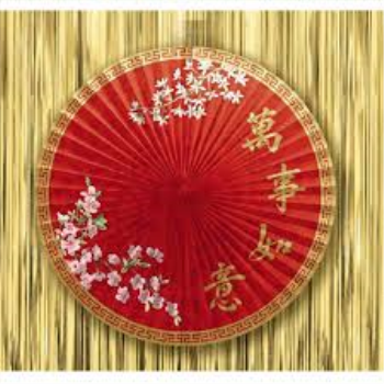 Picture of DECOR - CHINATOWN PARASOL FAN
