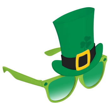 Picture of WEARABLES - ST PAT'S TOP HAT FUN SHADE - GLASSES