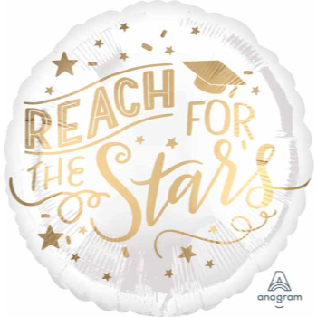 Picture of 18'' FOIL - REACH FOR THE STARS GRAD