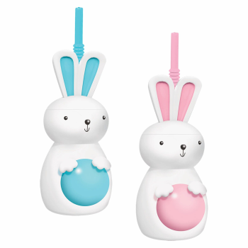 Picture of TABLEWARE - BUNNY SIPPY PLASTIC CUPS