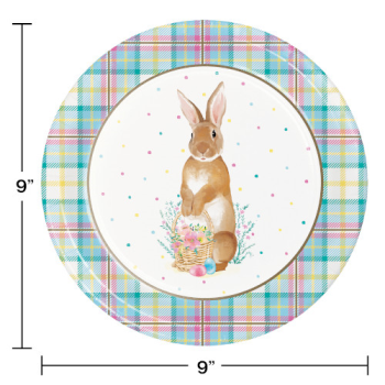 """Picture of TABLEWARE - STORYBOOK EASTER BUNNY 9"""" PLATES"""