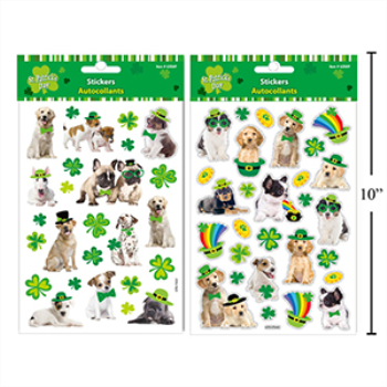 Picture of DECOR - ST PAT'S STICKERS