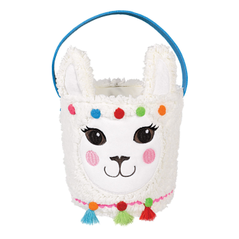 Picture of DECOR - EASTER BASKET LLAMA
