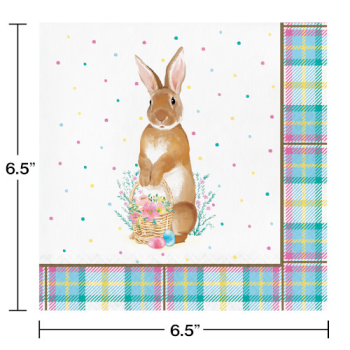 Picture of TABLEWARE - STORYBOOK EASTER BUNNY LUNCHEON NAPKINS