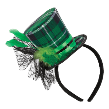 Picture of WEARABLES - PLAID DELUXE TOP HAT HEADBAND