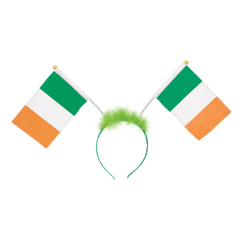 Picture of WEARABLES - IRISH FLAG BOPPER HEADBAND