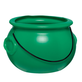 Picture of DECOR - ST PATS GREEN POT 8""