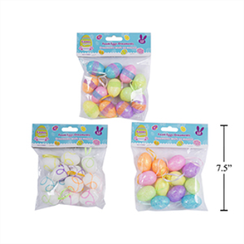 Picture of DECOR - EASTER FOAM EGG ORNAMENTS